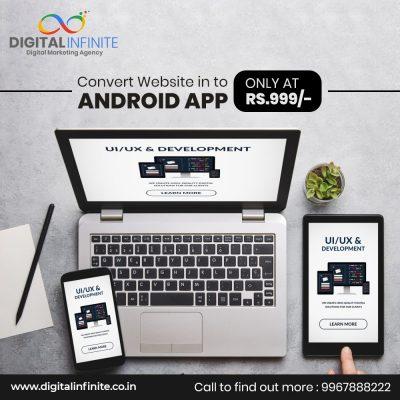 Convert Website in to App