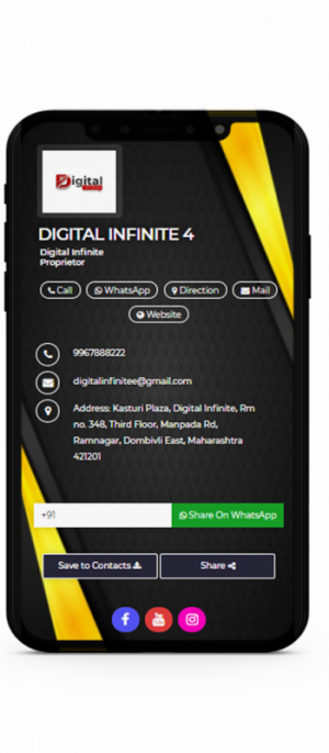 Digital Business Card 4